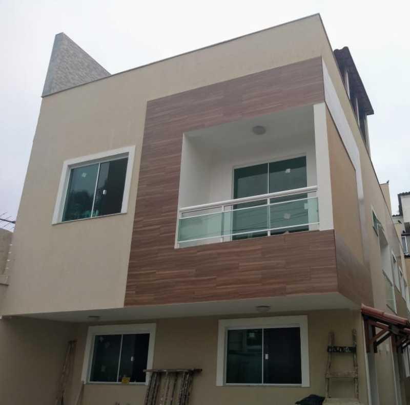 01 - Casa em Condomínio 2 quartos à venda Pechincha, Rio de Janeiro - R$ 485.000 - FRCN20081 - 1