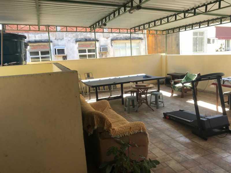 25 - TERRAÇO - Casa de Vila 2 quartos à venda Quintino Bocaiúva, Rio de Janeiro - R$ 320.000 - MECV20065 - 26