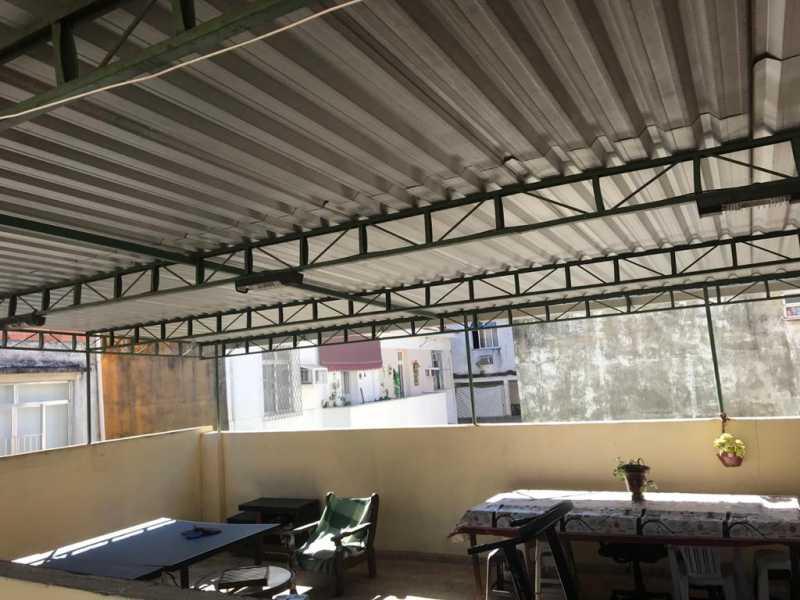 26 - TERRAÇO - Casa de Vila 2 quartos à venda Quintino Bocaiúva, Rio de Janeiro - R$ 320.000 - MECV20065 - 27