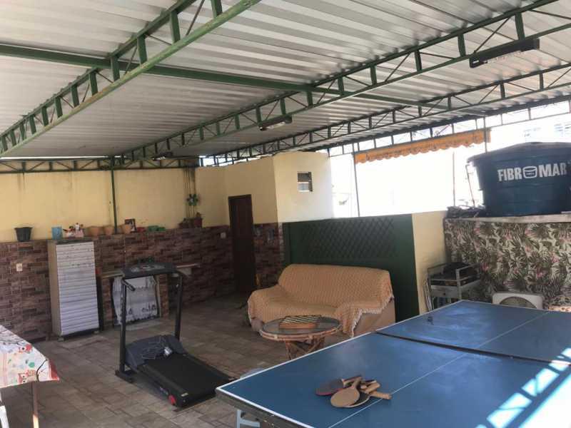 27 - TERRAÇO - Casa de Vila 2 quartos à venda Quintino Bocaiúva, Rio de Janeiro - R$ 320.000 - MECV20065 - 28