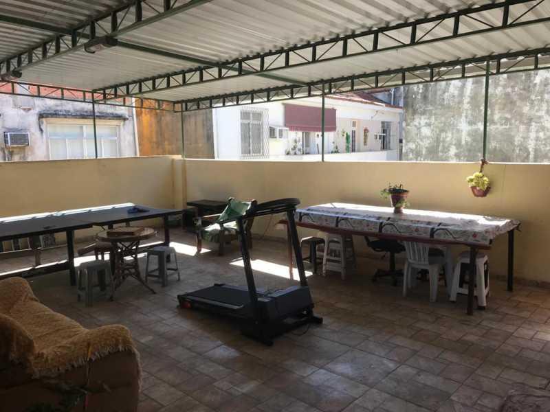 28 - TERRAÇO - Casa de Vila 2 quartos à venda Quintino Bocaiúva, Rio de Janeiro - R$ 320.000 - MECV20065 - 29