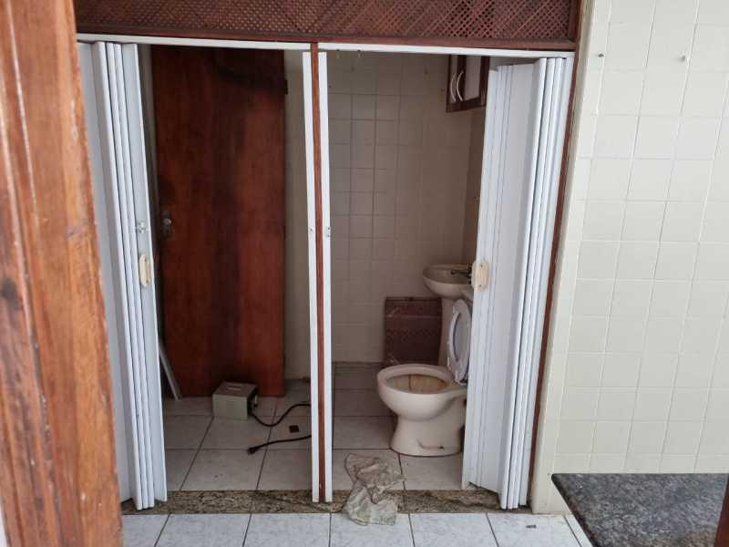 11 - BANHEIRO SERVIÇO - Apartamento 2 quartos à venda Cachambi, Rio de Janeiro - R$ 200.000 - MEAP21203 - 11