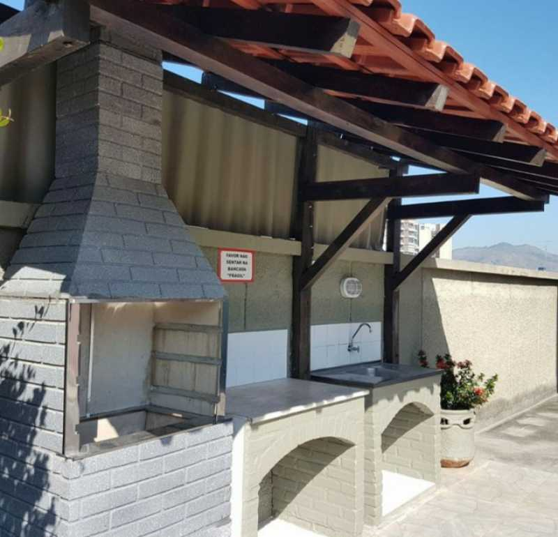 12 - CHURRASQUEIRA. - Apartamento 2 quartos à venda Cachambi, Rio de Janeiro - R$ 200.000 - MEAP21203 - 12