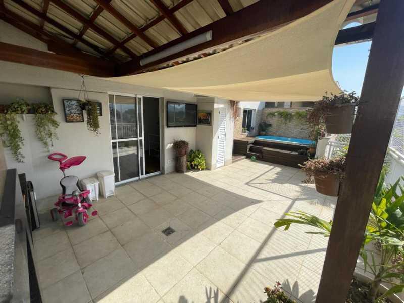 1 - Cobertura 3 quartos à venda Taquara, Rio de Janeiro - R$ 590.000 - FRCO30194 - 1