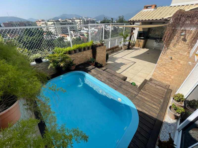 2 - Cobertura 3 quartos à venda Taquara, Rio de Janeiro - R$ 590.000 - FRCO30194 - 3