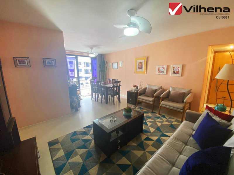 SALA MARAVILHOSA - Apartamento 3 quartos à venda Grajaú, Rio de Janeiro - R$ 850.000 - FRAP30750 - 3