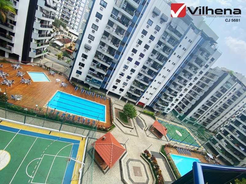 LAZER FANTÁSTICO - Apartamento 3 quartos à venda Grajaú, Rio de Janeiro - R$ 850.000 - FRAP30750 - 19