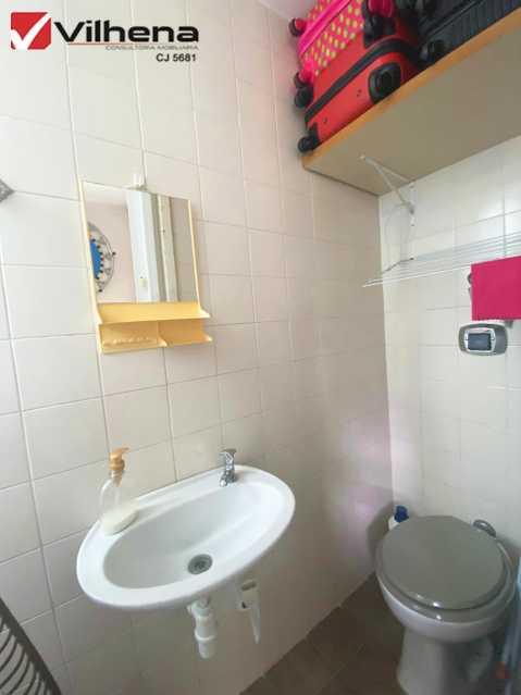 BANHEIRO DE SERVIÇO - Apartamento 3 quartos à venda Grajaú, Rio de Janeiro - R$ 850.000 - FRAP30750 - 27