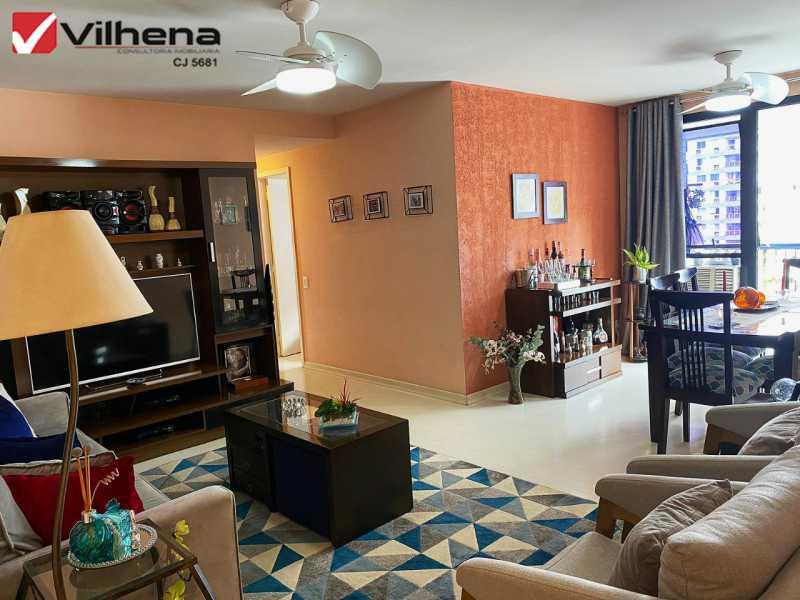SALÃO EM 2 AMBIENTES - Apartamento 3 quartos à venda Grajaú, Rio de Janeiro - R$ 850.000 - FRAP30750 - 1
