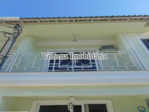 VARANDA - Casa em Condominio À VENDA, Taquara, Rio de Janeiro, RJ - P130596 - 8
