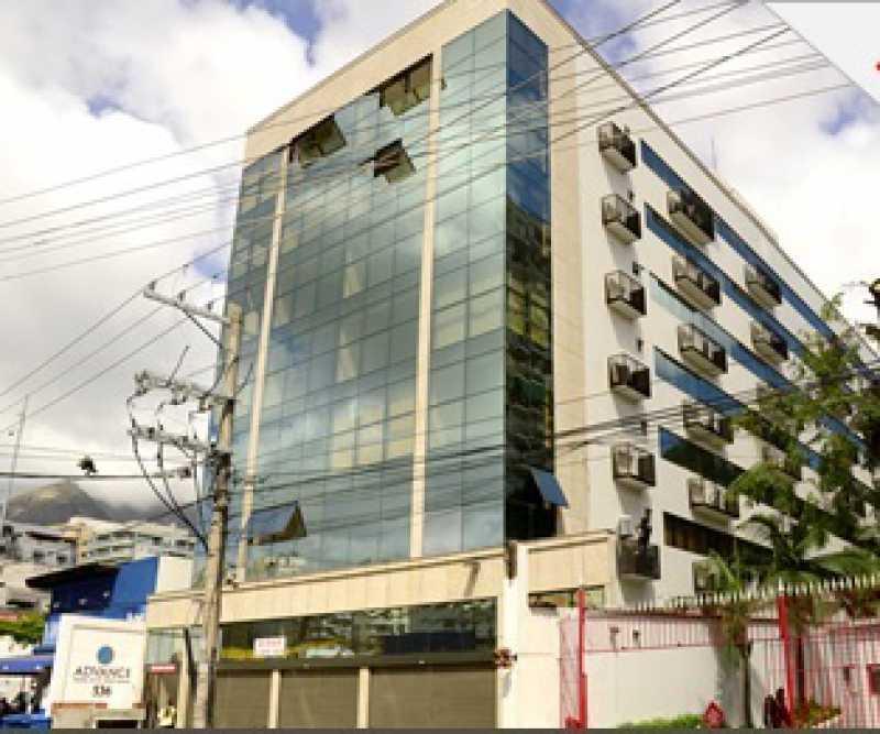 fachada - Sala Comercial À VENDA, Freguesia (Jacarepaguá), Rio de Janeiro, RJ - FRSL00012 - 1
