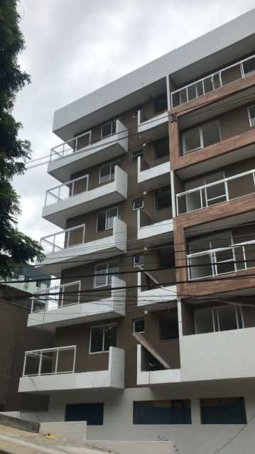 Fachada 3. - Apartamento À VENDA, Freguesia (Jacarepaguá), Rio de Janeiro, RJ - FRAP20186 - 13