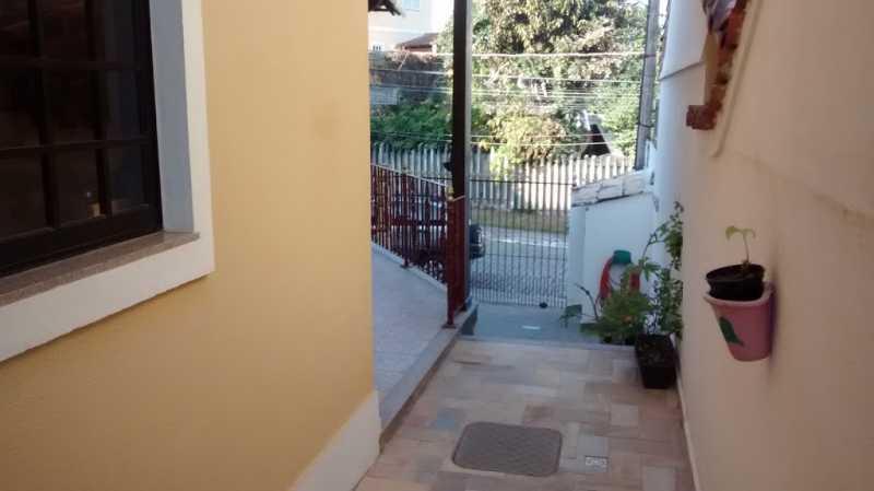 area externa - Casa em Condominio Taquara,Rio de Janeiro,RJ À Venda,4 Quartos,258m² - FRCN40016 - 15