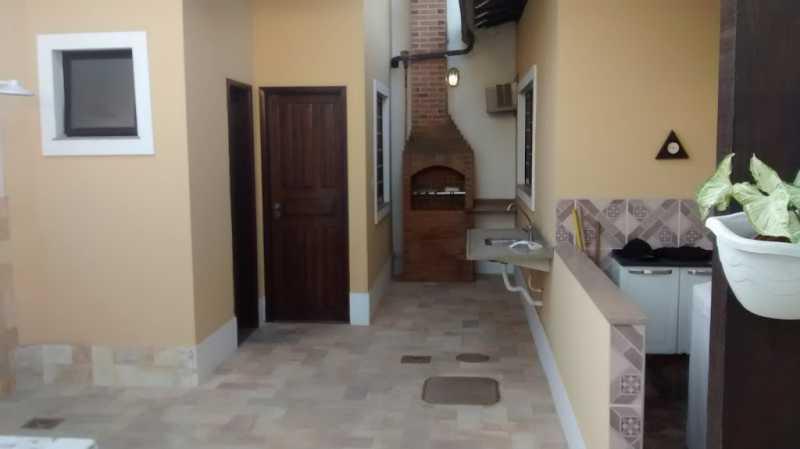 area externa - Casa em Condominio Taquara,Rio de Janeiro,RJ À Venda,4 Quartos,258m² - FRCN40016 - 17