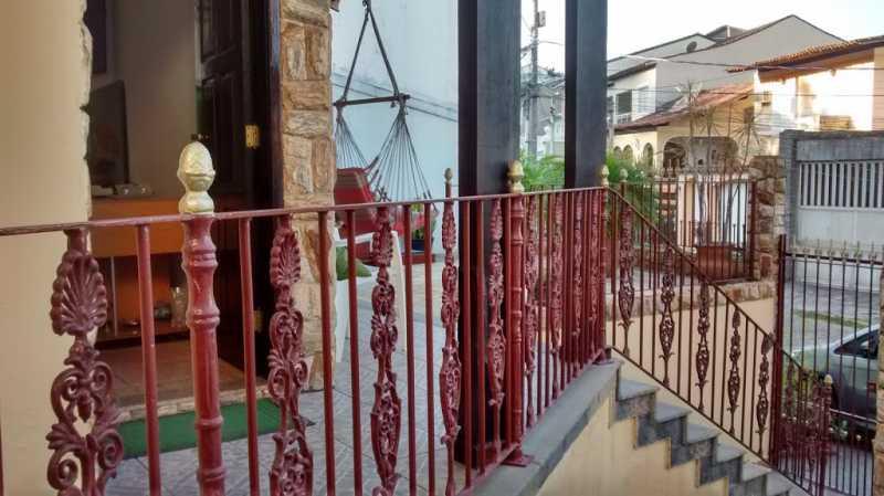 area externa - Casa em Condominio Taquara,Rio de Janeiro,RJ À Venda,4 Quartos,258m² - FRCN40016 - 19
