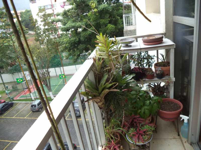 VARANDA 1 - Apartamento À VENDA, Freguesia (Jacarepaguá), Rio de Janeiro, RJ - FRAP30093 - 4