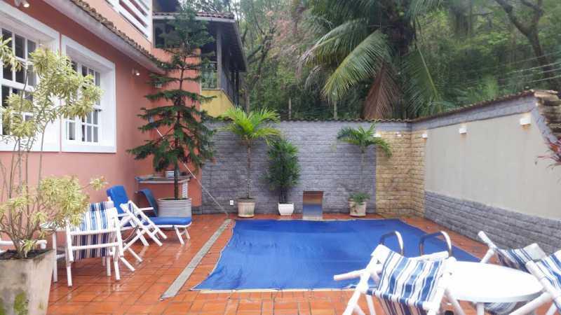 16 - Casa em Condominio Freguesia (Jacarepaguá),Rio de Janeiro,RJ À Venda,4 Quartos,453m² - FRCN40021 - 1