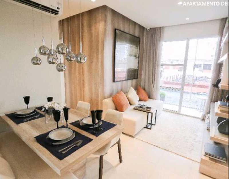 decorado1 - Apartamento Freguesia (Jacarepaguá),Rio de Janeiro,RJ À Venda,3 Quartos,70m² - FRAP30384 - 1
