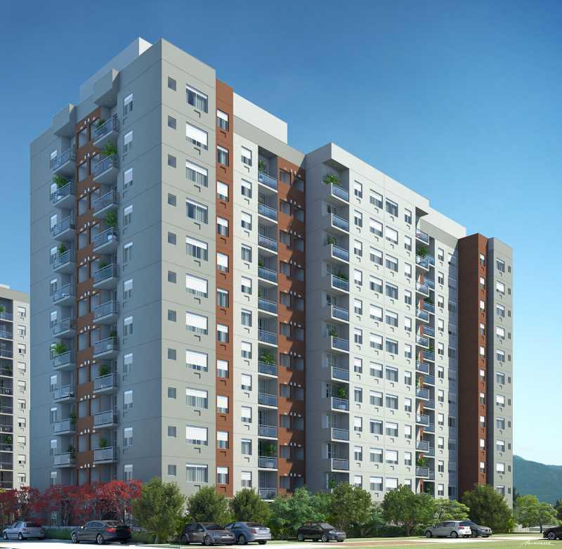 Perspectivas 1 - Apartamento Freguesia (Jacarepaguá),Rio de Janeiro,RJ À Venda,3 Quartos,70m² - FRAP30384 - 7
