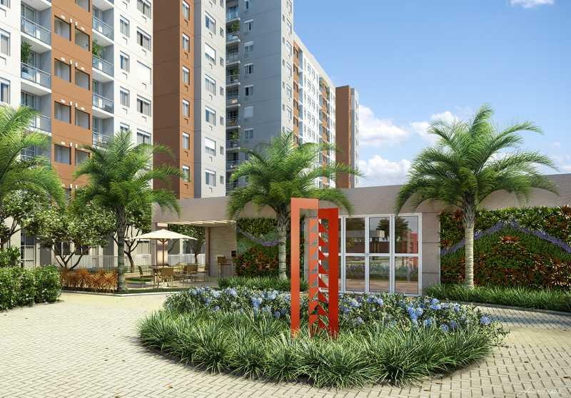 Perspectivas 3 - Apartamento Freguesia (Jacarepaguá),Rio de Janeiro,RJ À Venda,3 Quartos,70m² - FRAP30384 - 9