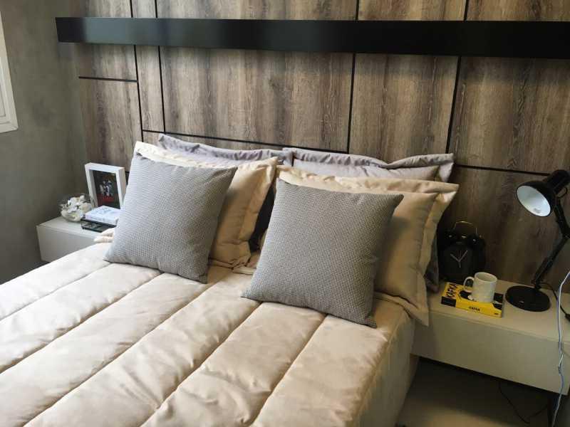 decorado 4 - Apartamento 2 quartos à venda Cachambi, Rio de Janeiro - R$ 383.000 - MEAP20139 - 6