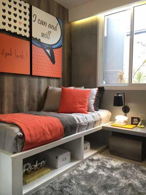 decorado 5 - Apartamento 2 quartos à venda Cachambi, Rio de Janeiro - R$ 383.000 - MEAP20139 - 7