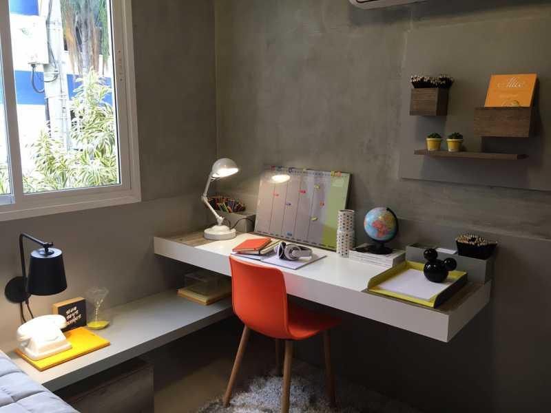 decorado 6 - Apartamento 2 quartos à venda Cachambi, Rio de Janeiro - R$ 383.000 - MEAP20139 - 8
