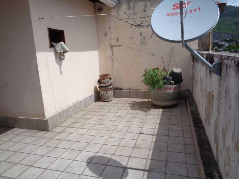 DSC02566 - Casa de Vila Encantado,Rio de Janeiro,RJ À Venda,4 Quartos,136m² - MECV40005 - 17