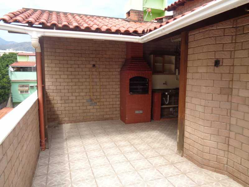 DSC01799 - Casa de Vila Engenho de Dentro, Rio de Janeiro, RJ À Venda, 3 Quartos, 106m² - MECV30006 - 26