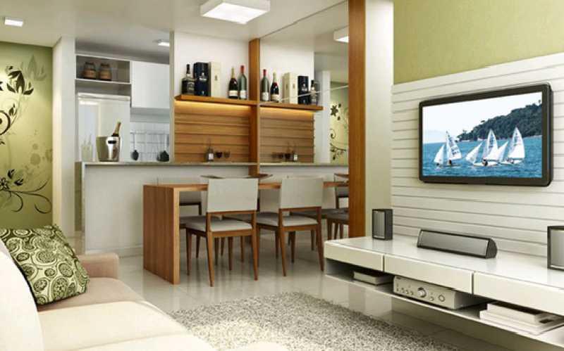 13 - Apartamento à venda Estrada dos Bandeirantes,Vargem Pequena, Rio de Janeiro - R$ 263.000 - FRAP20489 - 14