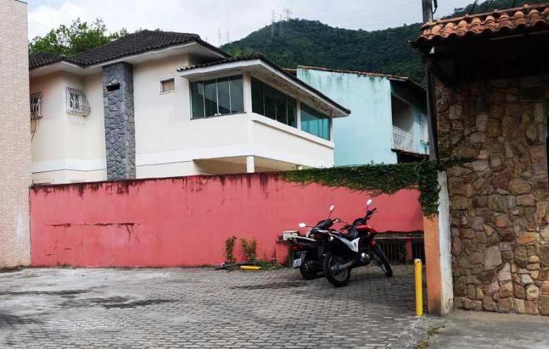 2 lateral da casa - Casa em Condomínio 4 quartos à venda Taquara, Rio de Janeiro - R$ 795.000 - FRCN40036 - 4