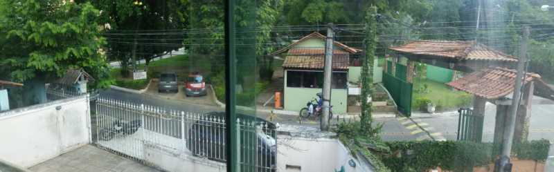 18 vista da varanda frontal - Casa em Condomínio 4 quartos à venda Taquara, Rio de Janeiro - R$ 795.000 - FRCN40036 - 22