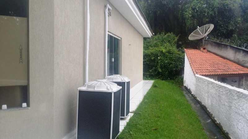 27 Salão de festas - Casa em Condomínio 4 quartos à venda Taquara, Rio de Janeiro - R$ 795.000 - FRCN40036 - 29