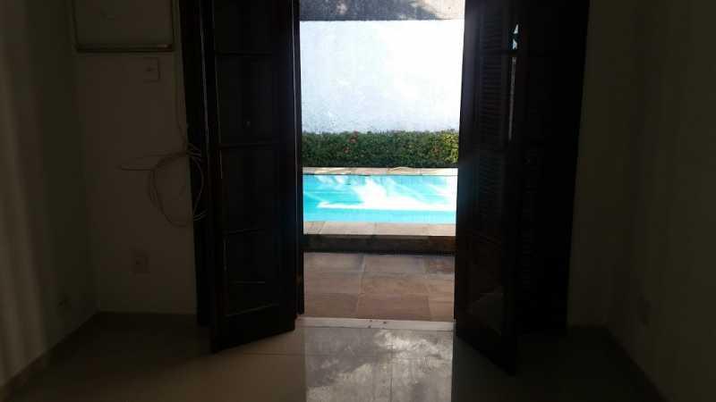 sala tv vista - Casa em Condominio À VENDA, Freguesia (Jacarepaguá), Rio de Janeiro, RJ - FRCN30064 - 21
