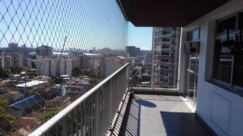 3 - VARANDA - Apartamento Maracanã,Rio de Janeiro,RJ À Venda,2 Quartos,86m² - MEAP20476 - 4
