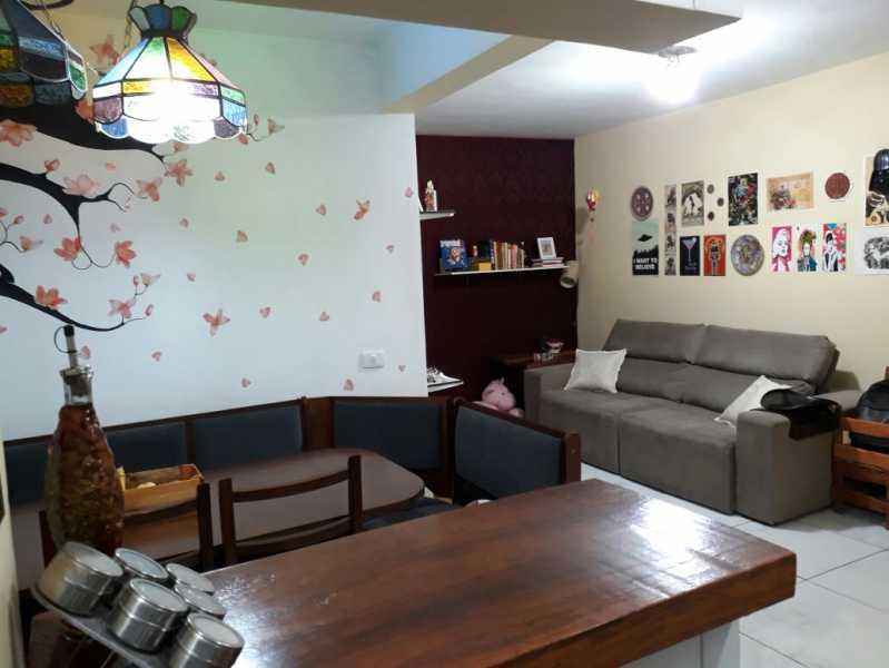 3 - sala. - Apartamento Méier, Rio de Janeiro, RJ Para Alugar, 2 Quartos, 61m² - MEAP20478 - 4