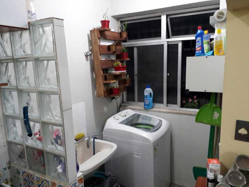 16 - área de serviço. - Apartamento Méier, Rio de Janeiro, RJ Para Alugar, 2 Quartos, 61m² - MEAP20478 - 21