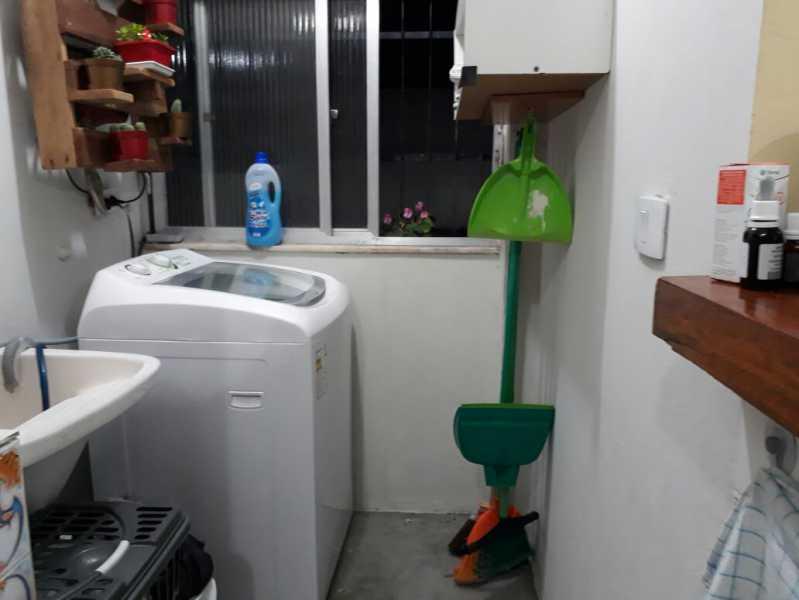 17 - área de serviço. - Apartamento Méier, Rio de Janeiro, RJ Para Alugar, 2 Quartos, 61m² - MEAP20478 - 22
