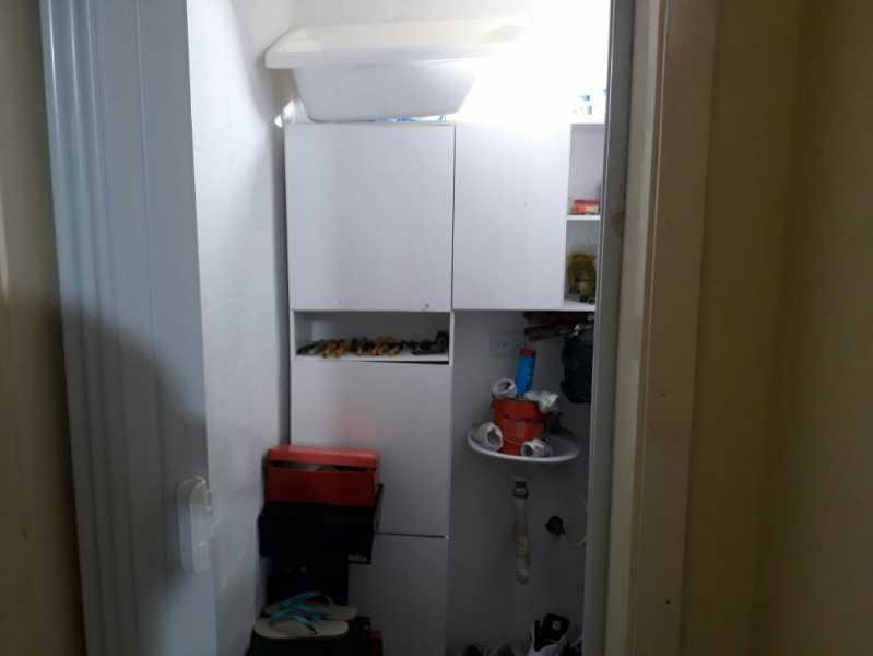 18 - dependência. - Apartamento Méier, Rio de Janeiro, RJ Para Alugar, 2 Quartos, 61m² - MEAP20478 - 23