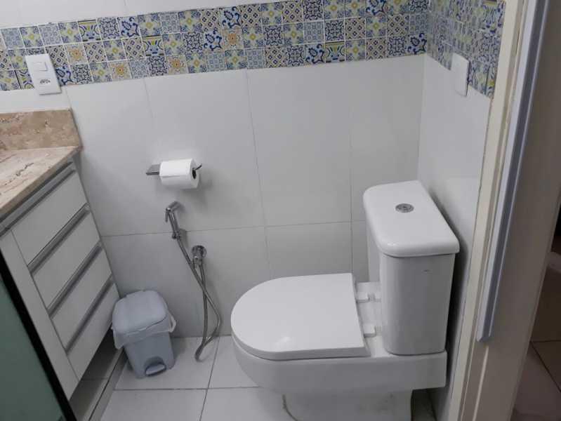 19 - banheiro social. - Apartamento Méier, Rio de Janeiro, RJ Para Alugar, 2 Quartos, 61m² - MEAP20478 - 13