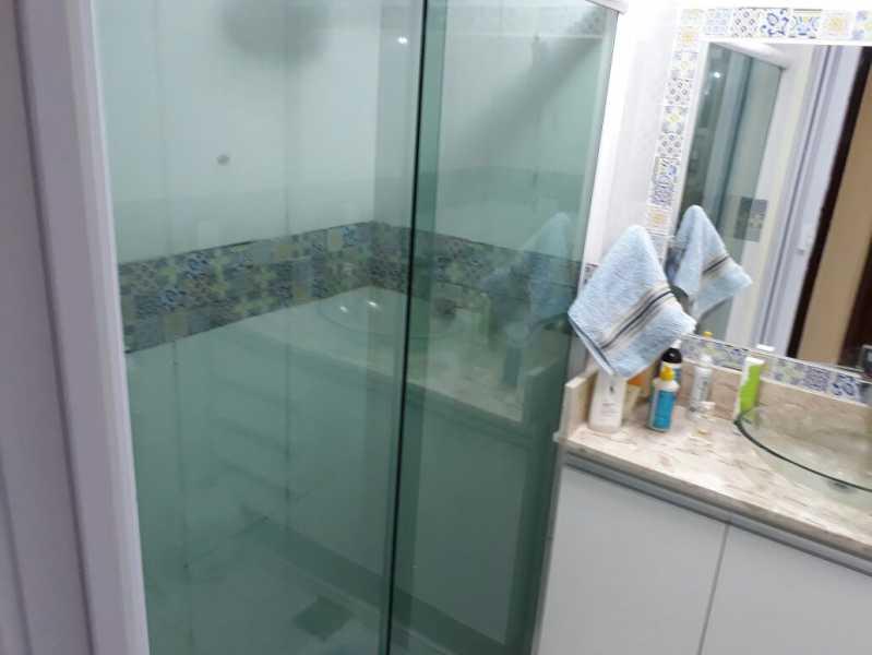 20 - banheiro social. - Apartamento Méier, Rio de Janeiro, RJ Para Alugar, 2 Quartos, 61m² - MEAP20478 - 14