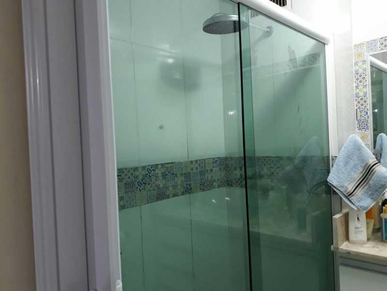 22 - banheiro social. - Apartamento Méier, Rio de Janeiro, RJ Para Alugar, 2 Quartos, 61m² - MEAP20478 - 16