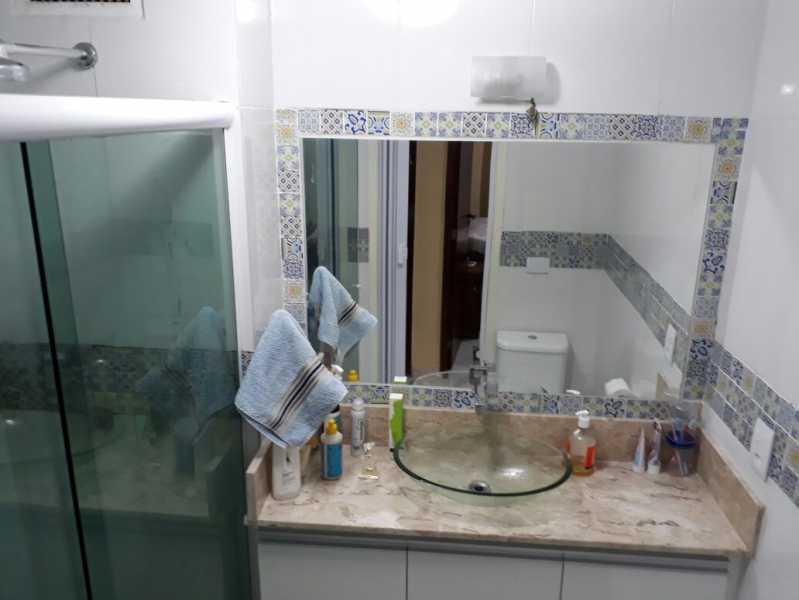 23 - banheiro social. - Apartamento Méier, Rio de Janeiro, RJ Para Alugar, 2 Quartos, 61m² - MEAP20478 - 17