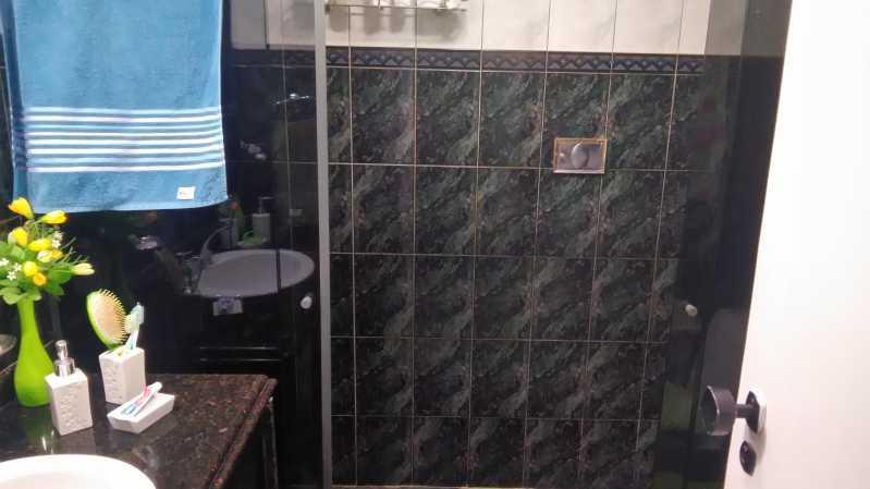 14 - banheiro social - Apartamento Engenho Novo,Rio de Janeiro,RJ À Venda,2 Quartos,76m² - MEAP20488 - 15