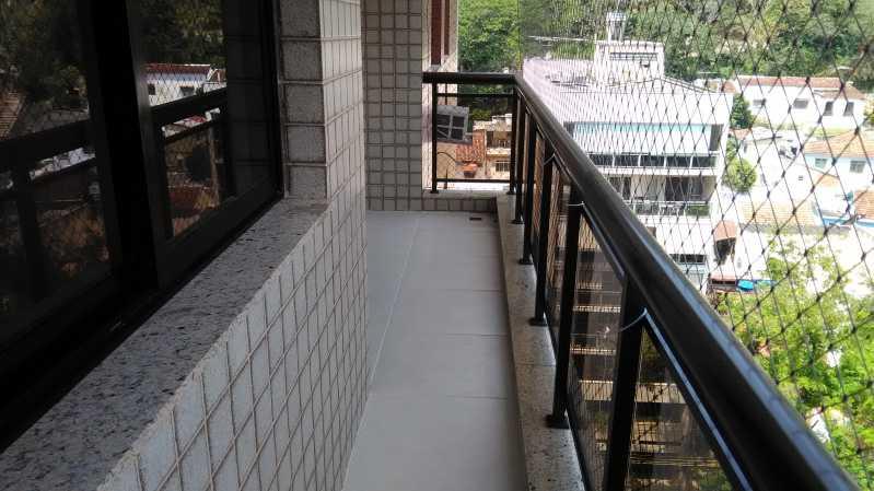 5 - varanda - Apartamento À VENDA, Tijuca, Rio de Janeiro, RJ - MEAP30174 - 5
