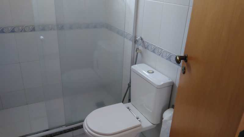15 - banheiro suíte - Apartamento À VENDA, Tijuca, Rio de Janeiro, RJ - MEAP30174 - 16