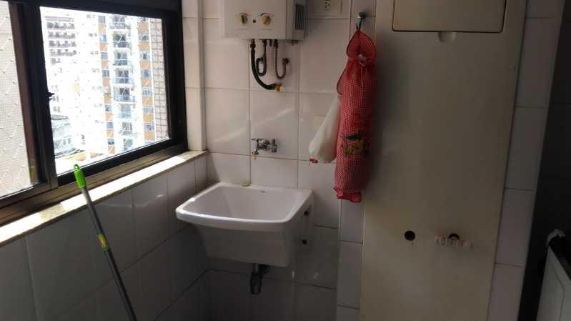 19 - área de serviço - Apartamento À VENDA, Tijuca, Rio de Janeiro, RJ - MEAP30174 - 20