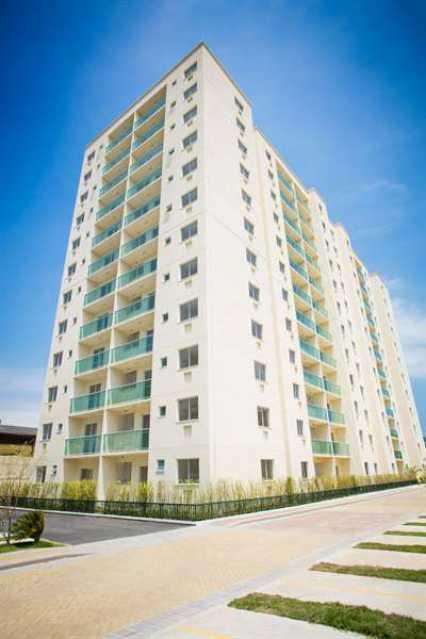 FACHADA 1 - Apartamento Estrada dos Bandeirantes,Camorim,Rio de Janeiro,RJ À Venda,2 Quartos,59m² - FRAP20791 - 3