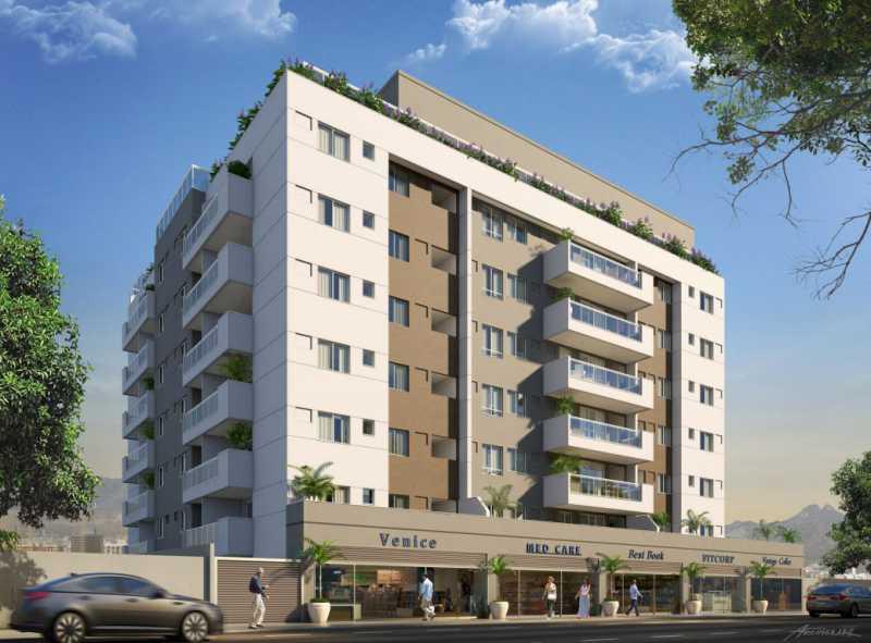 fachada - Apartamento Vila Isabel,Rio de Janeiro,RJ À Venda,2 Quartos,67m² - FRAP20811 - 5