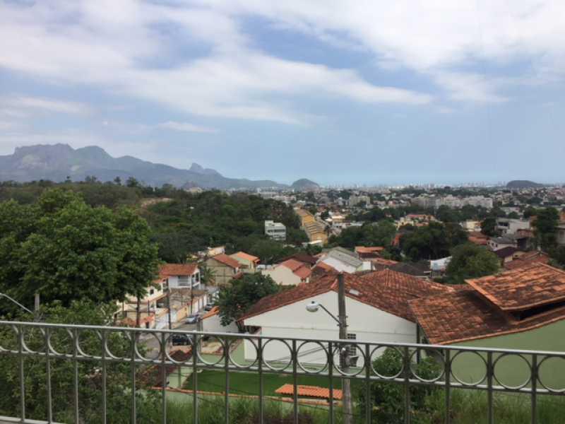 01 - Casa em Condomínio 4 quartos à venda Taquara, Rio de Janeiro - R$ 600.000 - FRCN40062 - 1